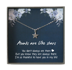 Aunt Gift from Nephew, Auntie Necklace, Christmas gift for Aunt Gift from Niece, Auntie Gifts, Aunt gifts