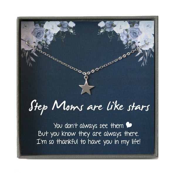 Step Mom gift, Step Mom Birthday Gift for Stepmom Gift, Stepmother Gift Stepmom Necklace, Gifts for Stepmom