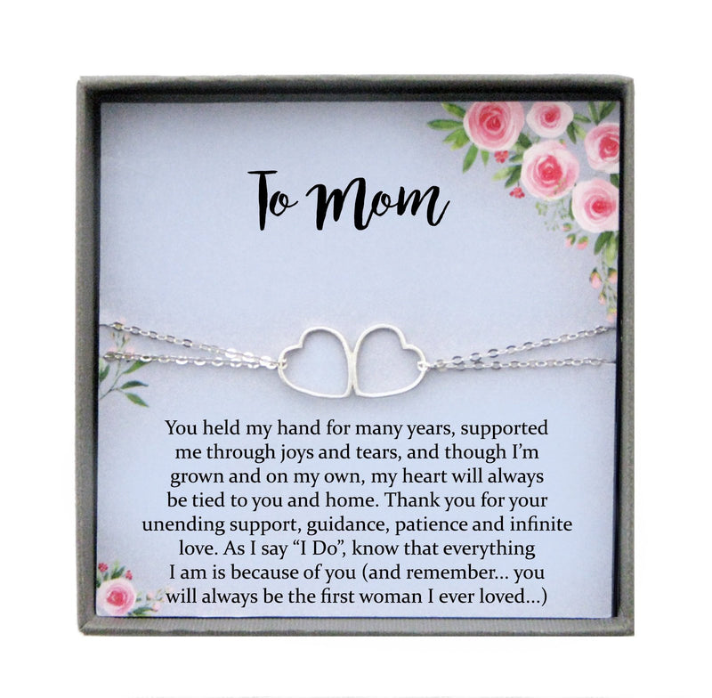 Mother of the Groom Gift from Son, Wedding Gift from Groom to Mom