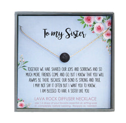 Sister Necklace for Sister Gift Ideas, Sister Birthday Gift, Sisterhood Gift, Big Sister Gift