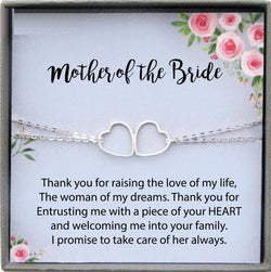 Mother of the Bride Gift from Groom, Mother in Law Wedding Gift from Groom