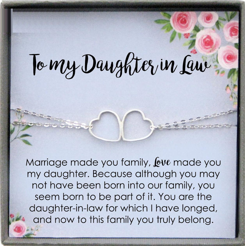 Daughter in Law Gift from Mother in Law to Bride Wedding Gift for Daughter-in-Law On Wedding Day Gift for Bride