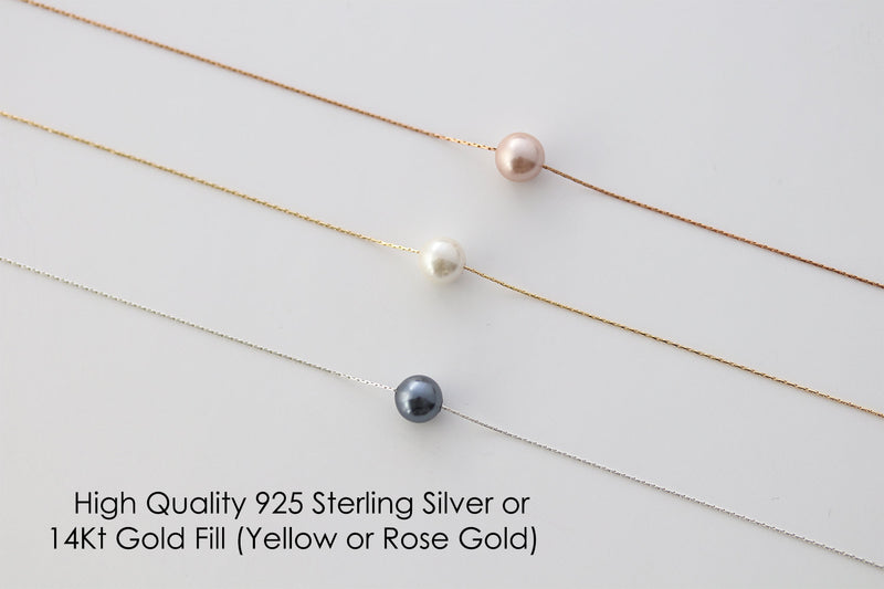Step Daughter Gift for Step Daughter, Bonus Daughter Gift Necklace Blended Family Stepdaughter Gift daughter of bride Single Pearl Necklace