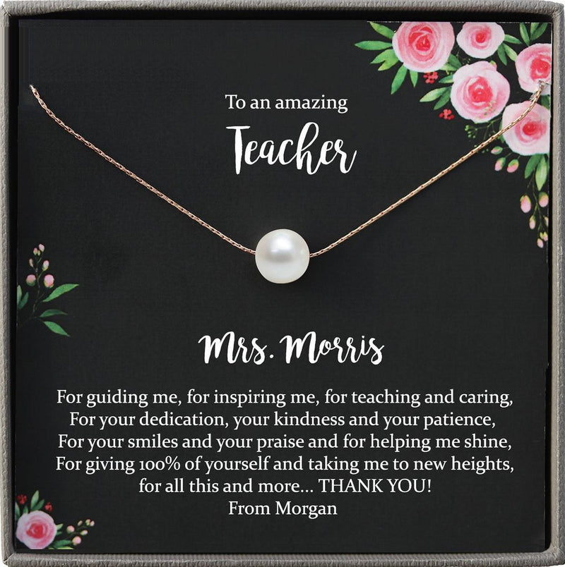Teacher Gift for Teacher Appreciation Gift Teacher Thank You Gift, Personalized Teacher gifts end of year
