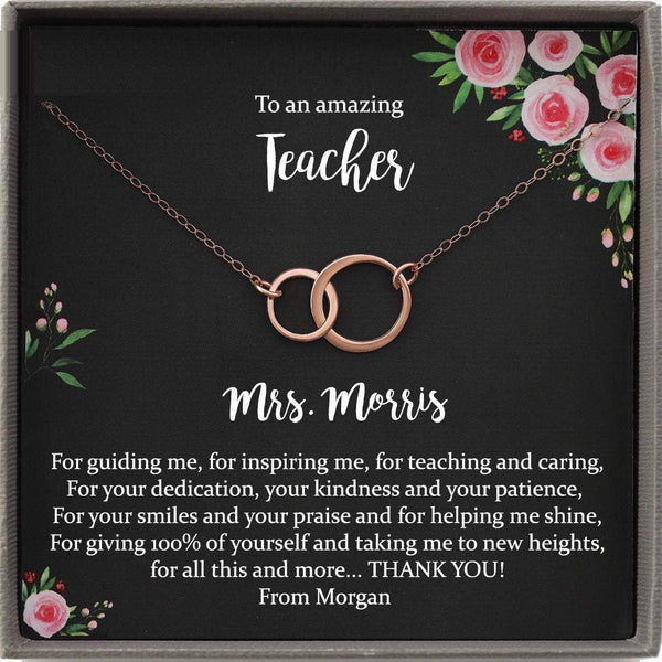 Teacher Gifts Teacher Appreciation Gift Personalized Gift for Teacher Personalized Teacher Thank You Gift Unique Teacher Gifts End of Year