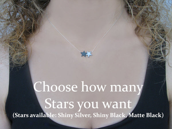 Sisters Necklace, Sister Gift Ideas, Sisters are like Stars, Two Sisters Necklace, Big Sister Gift, 2 Sisters Birthday