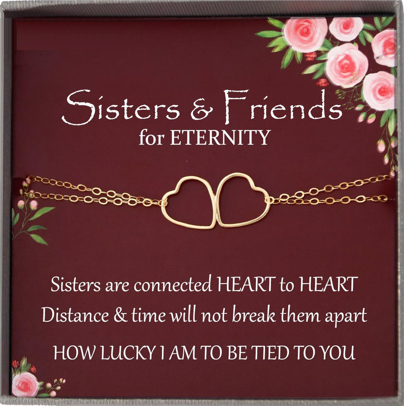 Sisters Bracelet for Sister Gift for Sister Birthday Gift Sister Jewelry Sisterhood gifts