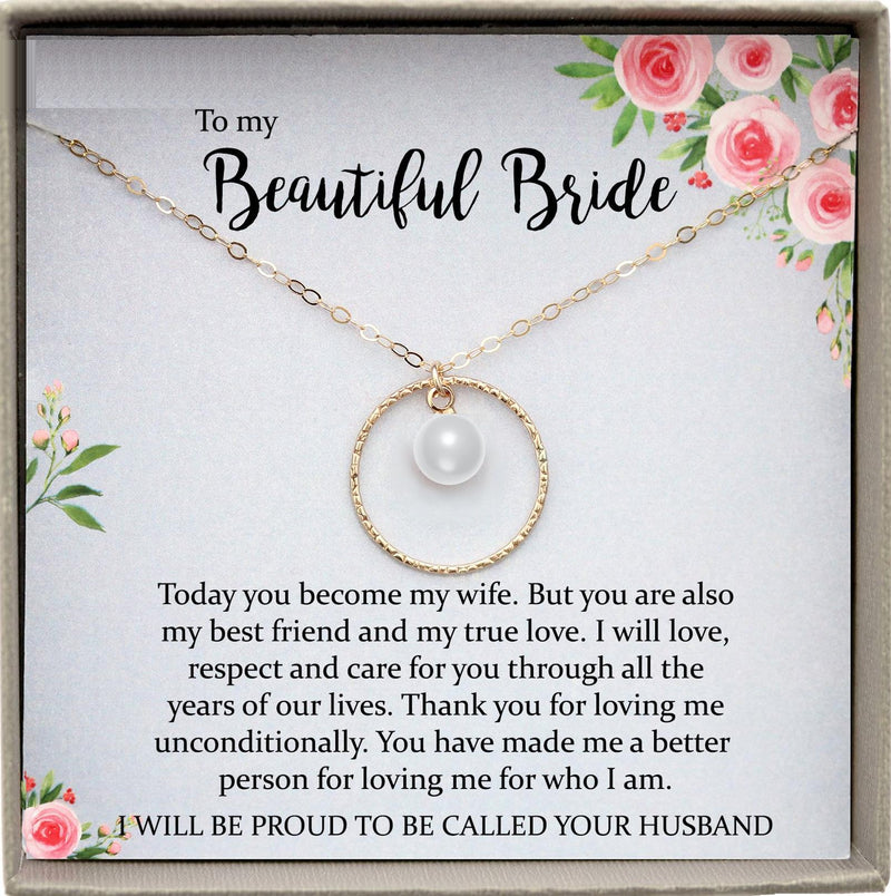 Wedding Day Gift for bride from Groom