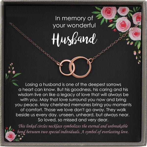 Memorial gift Husband Loss of Husband In Memory of Husband Sorry for your loss of Spouse loss of loved one condolence gift, bereavement gift