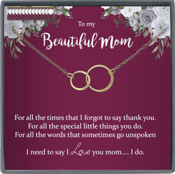 Mom Birthday Gift Sentimental Gifts for Mom Birthday Gift Mom Necklace for Mom Gift Mom Christmas Gift for Mom