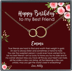 Birthday Gifts for Best Friend Birthday gift for bff birthday gift Happy birthday Friend Personalized Gifts for friend
