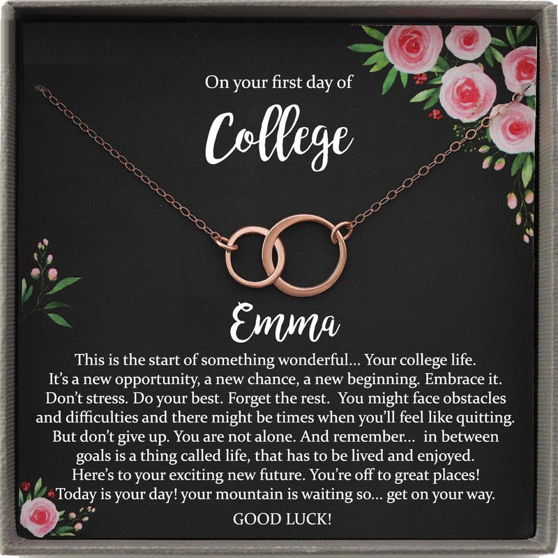 College Student Gift for Student Going to College Gifts, First day of College Gift, University Good Luck Gift, Good Luck Student Moving Away