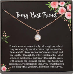 Friendship Gift Necklace, Best Friend Christmas Gift, Best Friend Gift, Best Friend Necklace