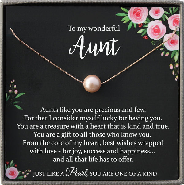 Auntie Gifts for Aunt Necklace for Aunt Gift for Aunt Christmas gift Aunt Wedding Gift Auntie Necklace, best aunt ever, Pearl Necklace