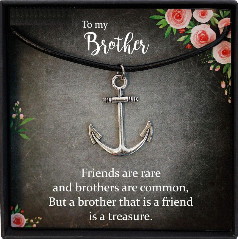 Christmas Gifts for Brother Birthday Gifts for Brother Gift Ideas, Gifts for Brother from Sister, Mens Necklace