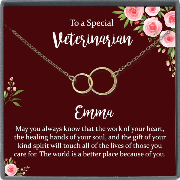 Veterinarian Gift Necklace Vet tech Gift ideas for Veterinarian Necklace Veterinary gift Veterinarian Jewelry vet gifts