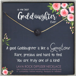 Goddaughter Gifts from Godmother, Goddaughter Necklace, Goddaughter baptism gift, Goddaughter Birthday gift, Goddaughter Wedding Gift