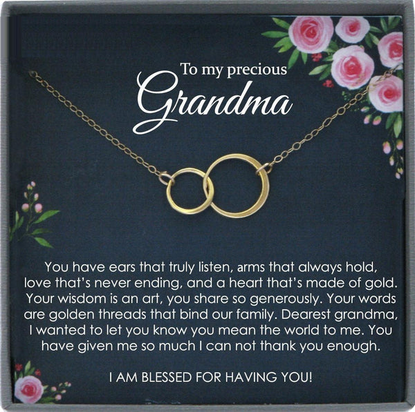 Grandmother Gift from Bride Gifts for Grandma Gift from Granddaughter Gifts for Grandma christmas Gifts Grandmother Gifts