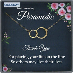 Paramedic Gift for Paramedic Thank You Gift for Paramedic Appreciation Gift, Paramedic Necklace, EMT Gift
