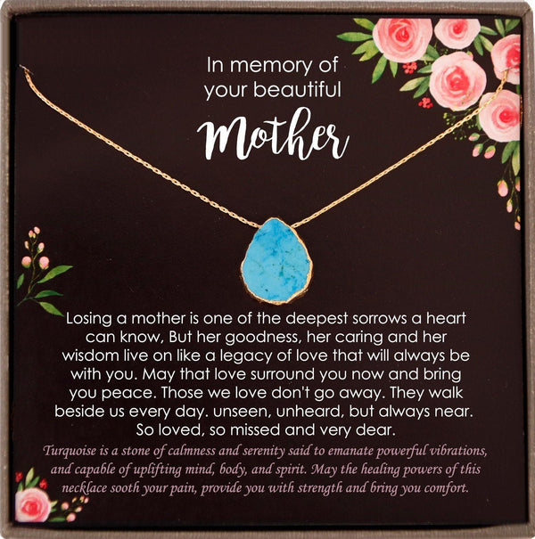 Memorial gift Mom Loss of Mother In Memory of Mom Sorry for your loss of mom loss of loved one condolence gift