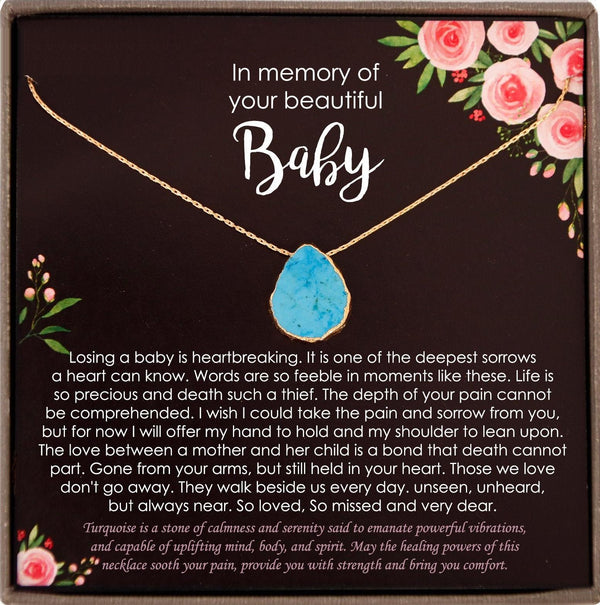 Baby Loss Gift, Infant Loss Gifts, Loss of Baby Necklace, Miscarriage Necklace, Pregnancy Loss Sorry for your loss condolence gift baby Loss