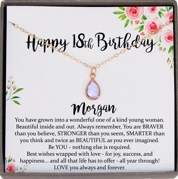 18th Birthday Gifts for Girls, Gift for 18 year old girl gift for her