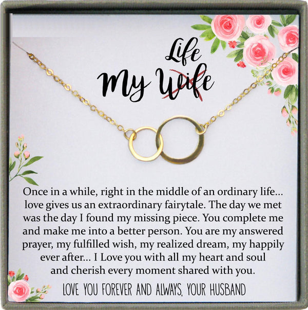 Wife Gift for Wife Birthday Gift for Wife from Husband Sentimental gifts for Her birthday Gifts for Her, 1st anniversary gift for wife