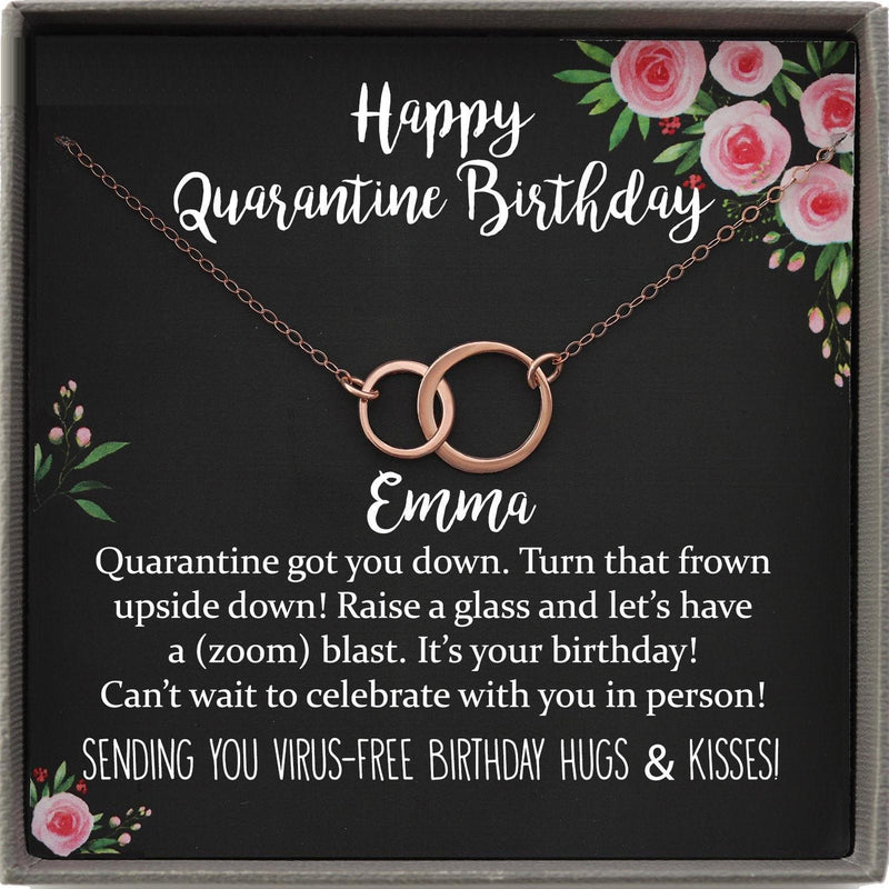 Quarantine Birthday Gift, Social Distancing Birthday Isolation Gift, Quarantined Birthday Gift, Quarantine Birthday Card