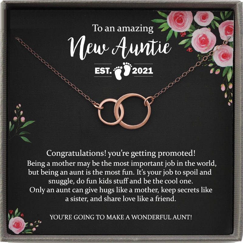 New Aunt Gift for New Auntie Gift For Soon to be Aunt Reveal to Aunt to be Gift Aunt announcement Promoted to Aunt Gift