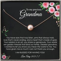 Grandmother of the Bride Gift to Grandma Wedding Gift for Grandma of the Bride Grandmother Wedding Gift Grandmother Gift from bride