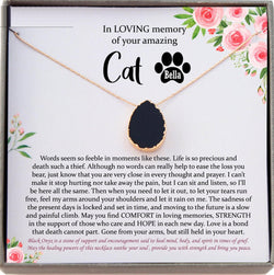 Cat Memorial Gift Pet Loss Gifts, Loss of Pet Gift, Loss of Cat gift in Memory of Cat Remembrance Gift for Loss of Cat Sympathy Gift