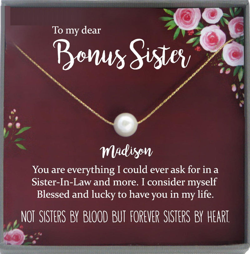 Sister in Law Necklace Sister-in-Law Christmas Gift for Sister in Law Gift for Unbiological Sister Gift