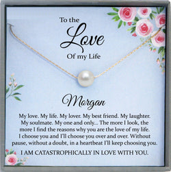 Love of my life gifts for Fiance Womens Gift, I love you to the moon and back, Love Gifts for Her