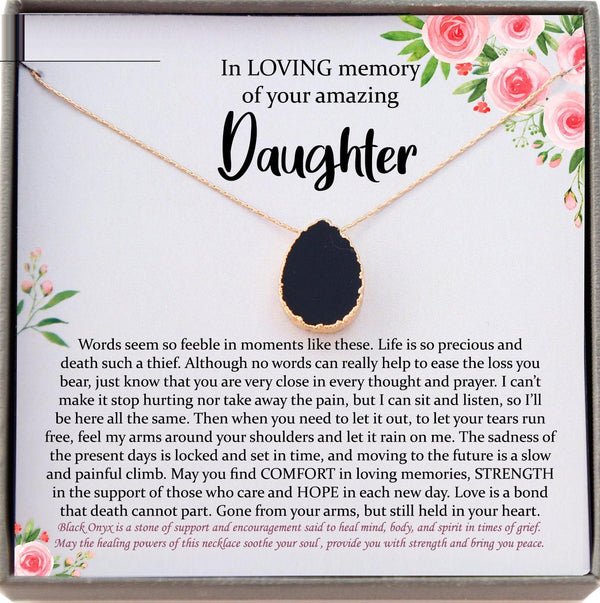 Memorial gift Daughter Loss of Daughter In Memory of Daughter Sorry for your Loss in loving memory remembrance gifts condolence gift