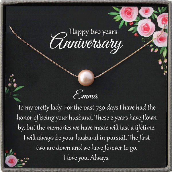 2nd Anniversary Gift for wife Cotton Anniversary Gift Ideas Second Anniversary Gift for Wife 2 year Anniversary Gift for Her