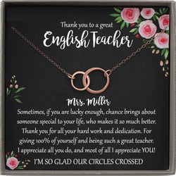 English Teacher Gift for English Teacher Christmas Gifts for Grammar Teacher