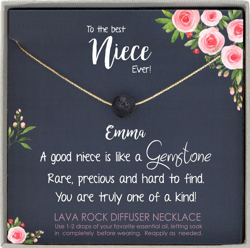 Niece Gift from Aunt, Gift for Niece Necklace, Niece Jewelry, Niece Wedding Gift, Niece Confirmation, Niece Birthday Gift ideas
