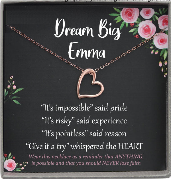 Dream Big Gifts, Motivational Gifts, Inspirational Gifts, Encouragement Gift, Dream Big Little One, I can do anything, I can do all things
