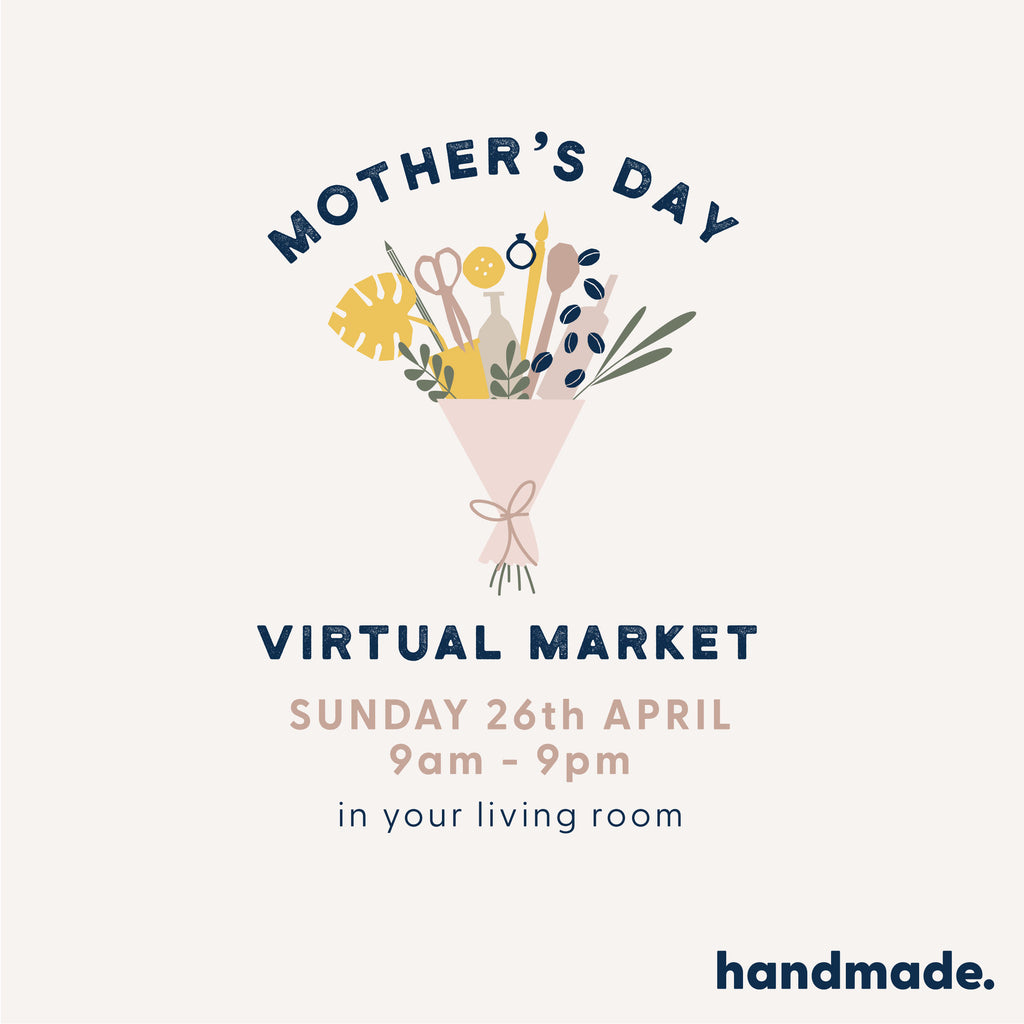 Handmade Virtual Market this Sunday!