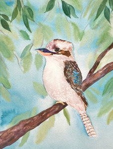 Kookaburra Original Watercolour Painting