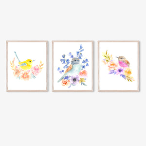 Flowerbirds Set & Singles