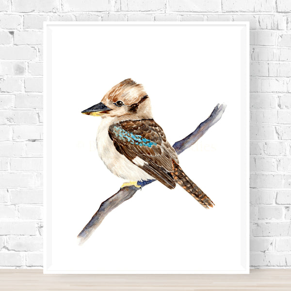 Kerry the Kookaburra Print