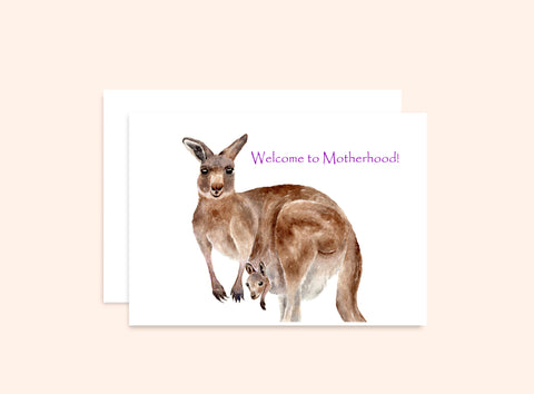 Mama Roo and Joey Card