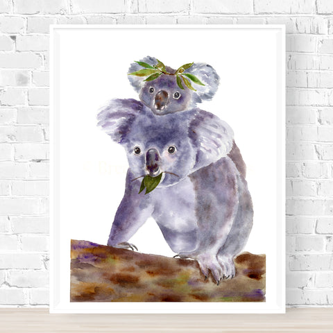'Motherly Love' Koala Print