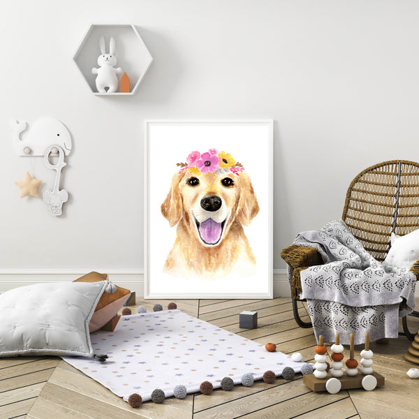 Lucy the Golden Retriever
