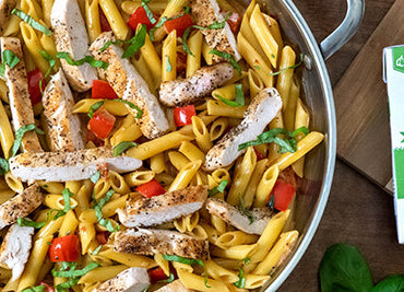 Garlic Parmesan Chicken Pasta