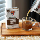 Mushroom Chicken Bone Broth