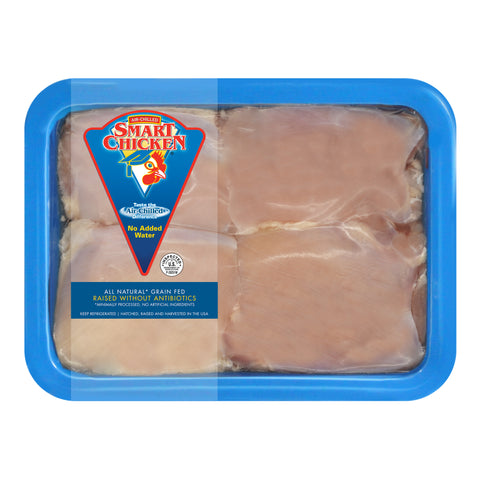 Boneless Skinless Chicken Thighs (6 Packages)