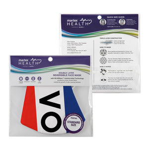 Martex Health Vote Triple Layer Face Masks with SILVERbac™ Antimicrobial Technology