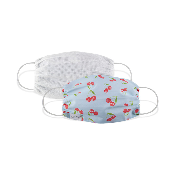 Martex Health Cherries Double Layer Gathered Standard Face Mask